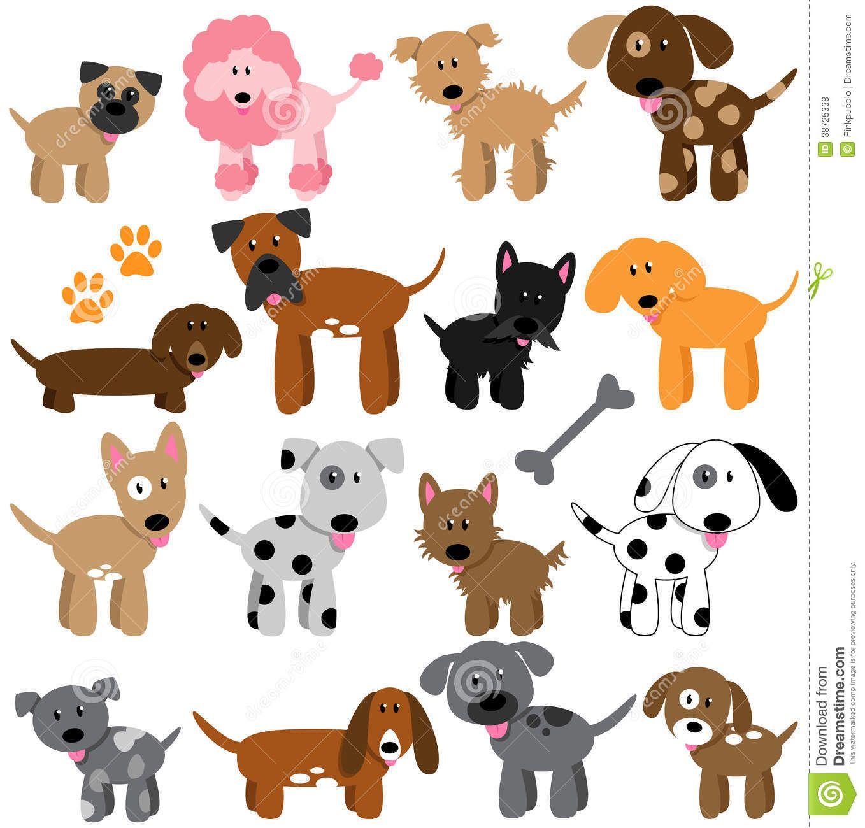 cartoondogscom vector collection of cute cartoon dogs