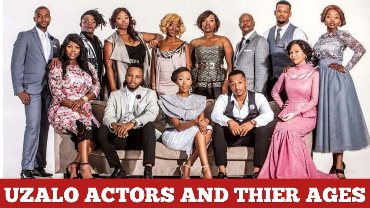 Uzalo Actors Names And Their Ages 2020 Actors Latest African Fashion Dresses Age