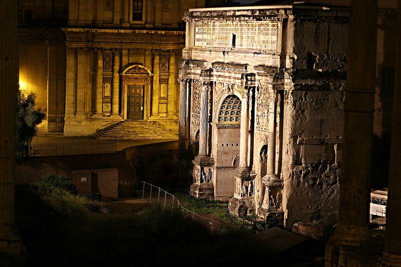 Roma Fori Imperiali Città Eterna Città Roma E Italia