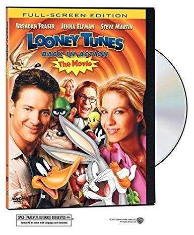 Looney Tunes Back In Action Dvd Full Screen Edition Eng Sp