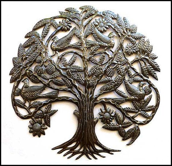 We want to do a Tree of Life motif in the living room. These metal ...