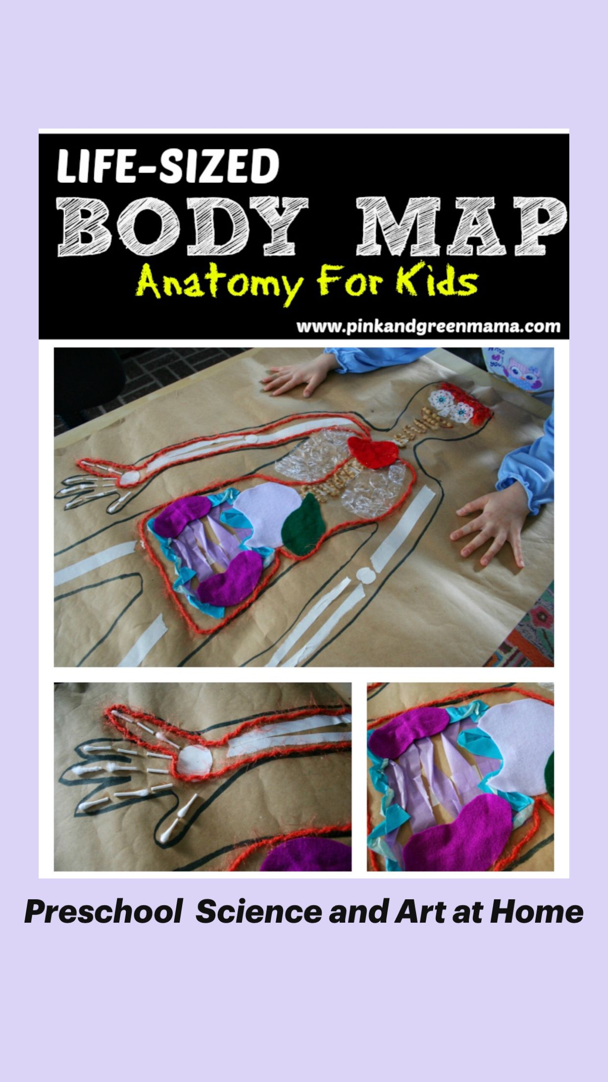 Preschool  Science and Art at Home