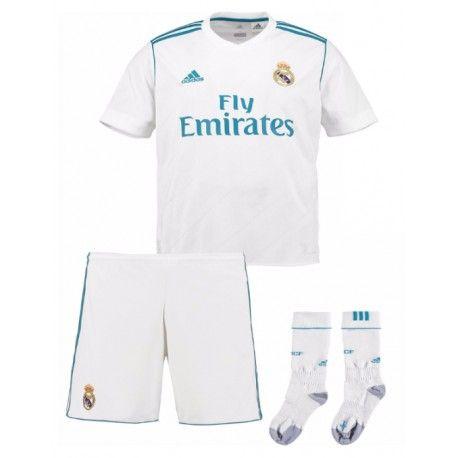 Maillot Real Madrid Enfant 2017 2018 Domicile | Maillot