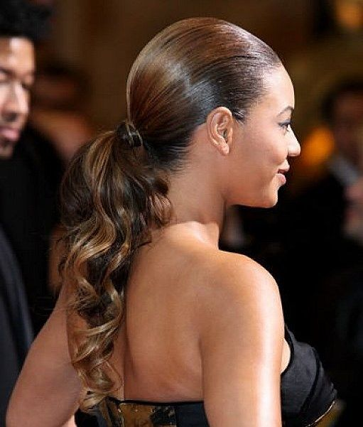 Ponytails Hairstyles 11 easy ponytail hairstyles best ideas for ponytail styles African American Curly Ponytail Hairstyles