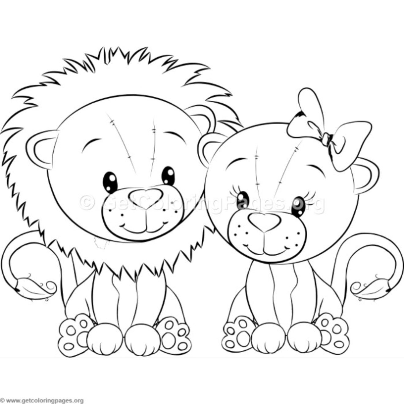 Little Lion 2 Coloring Pages Cute Coloring Pages Cool Coloring Pages Elephant Coloring Page