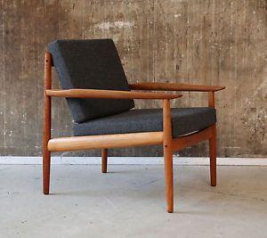 60er arne vodder teak sessel danish glostrup 60s vintage. Black Bedroom Furniture Sets. Home Design Ideas