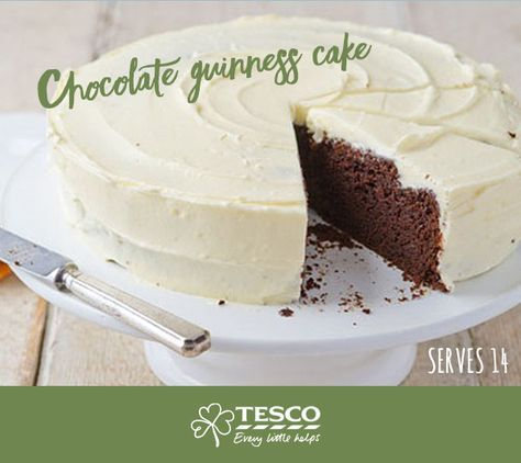 Yes, you read that right — you could be serving up a Guinness and chocolate flavoured cake to your guests this St. Patrick's Day!