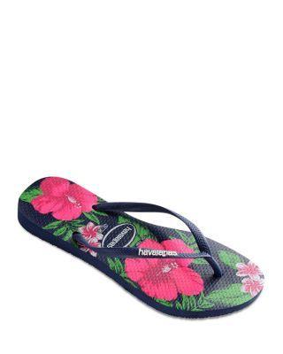 650c5298809fa7 havaianas Slim Floral Flip Flops
