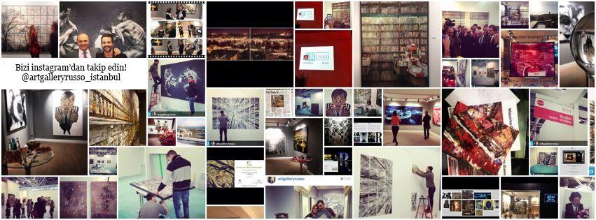 Follow us on instagram ! @artgalleryrusso_İstanbul