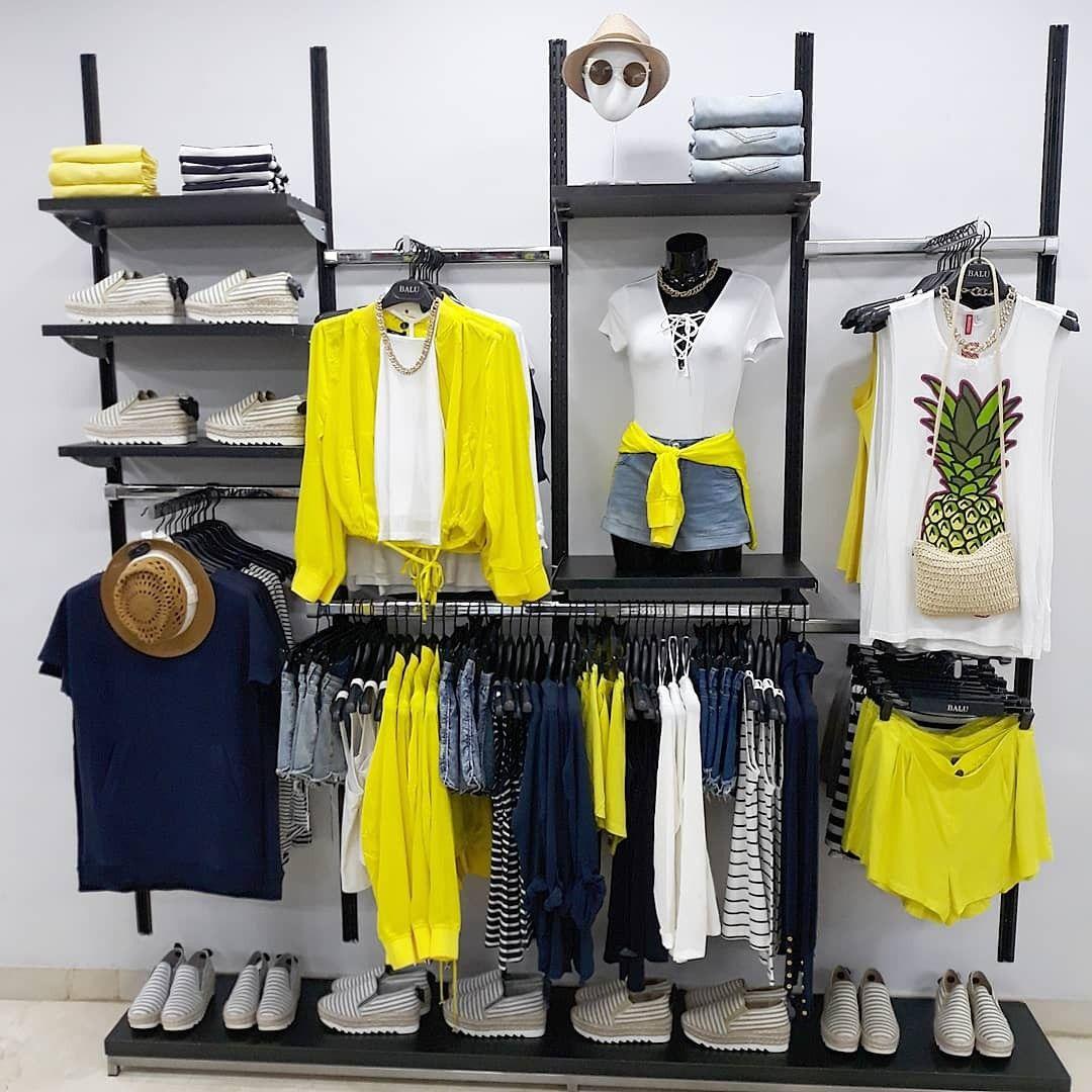 Visual merchandising summer deco dise o de tienda de for Diseno de interiores almacenes de ropa