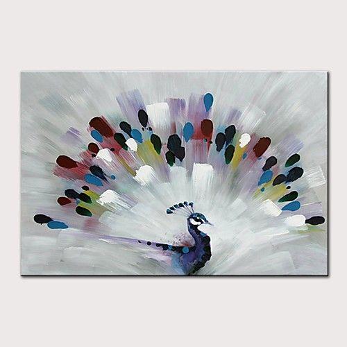 34 99 Hang Painted Oliemaleri Hand Malede Abstrakt Popkunst Moderne Uden Indre Ramme Valset Laerred Maling Pa Lerret Oljemalerier Malerier Ideer