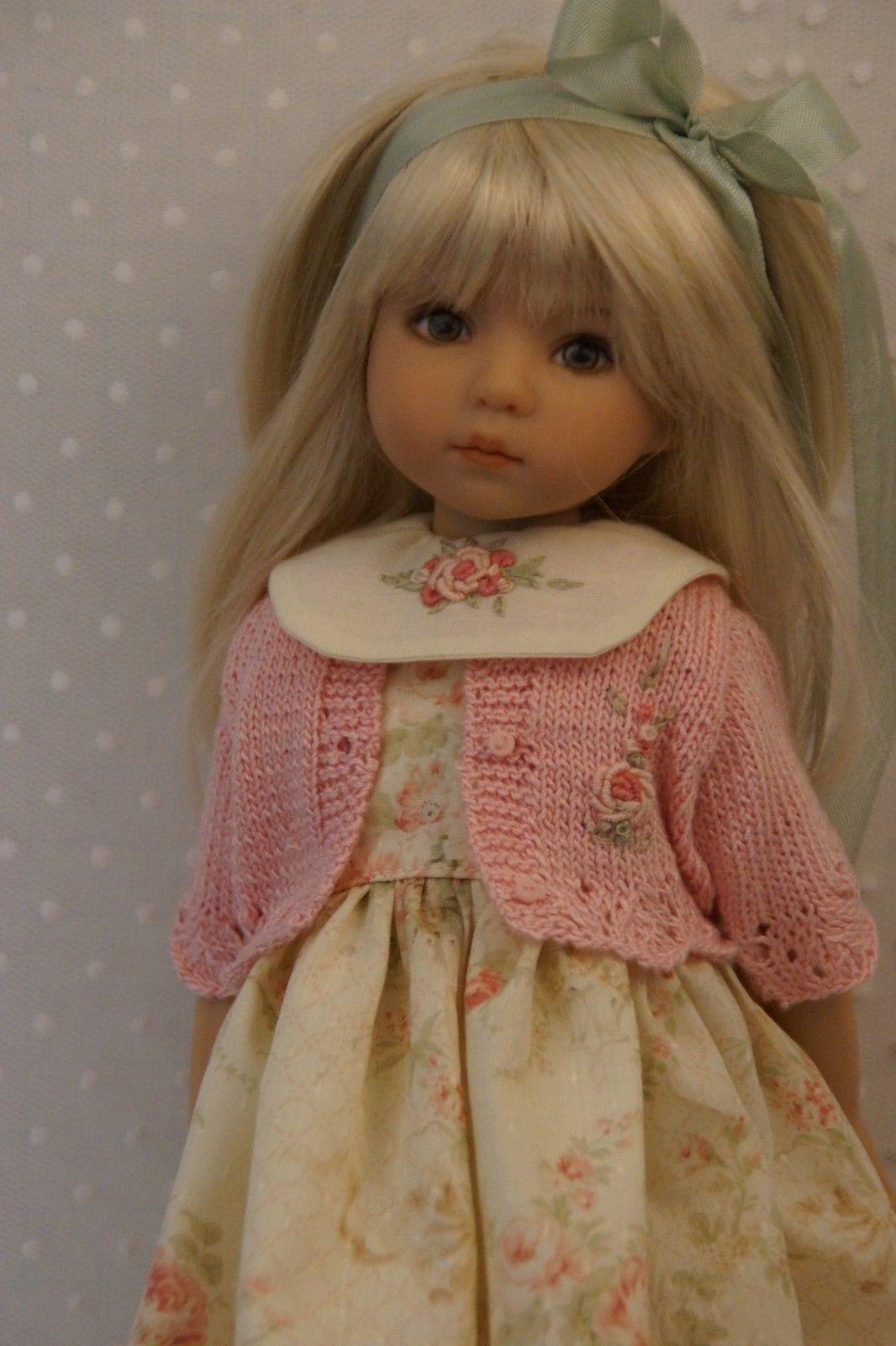"Effner 13"" Little Darling Antique Roses Ensemble by Ladybugs Doll Designs | eBay"