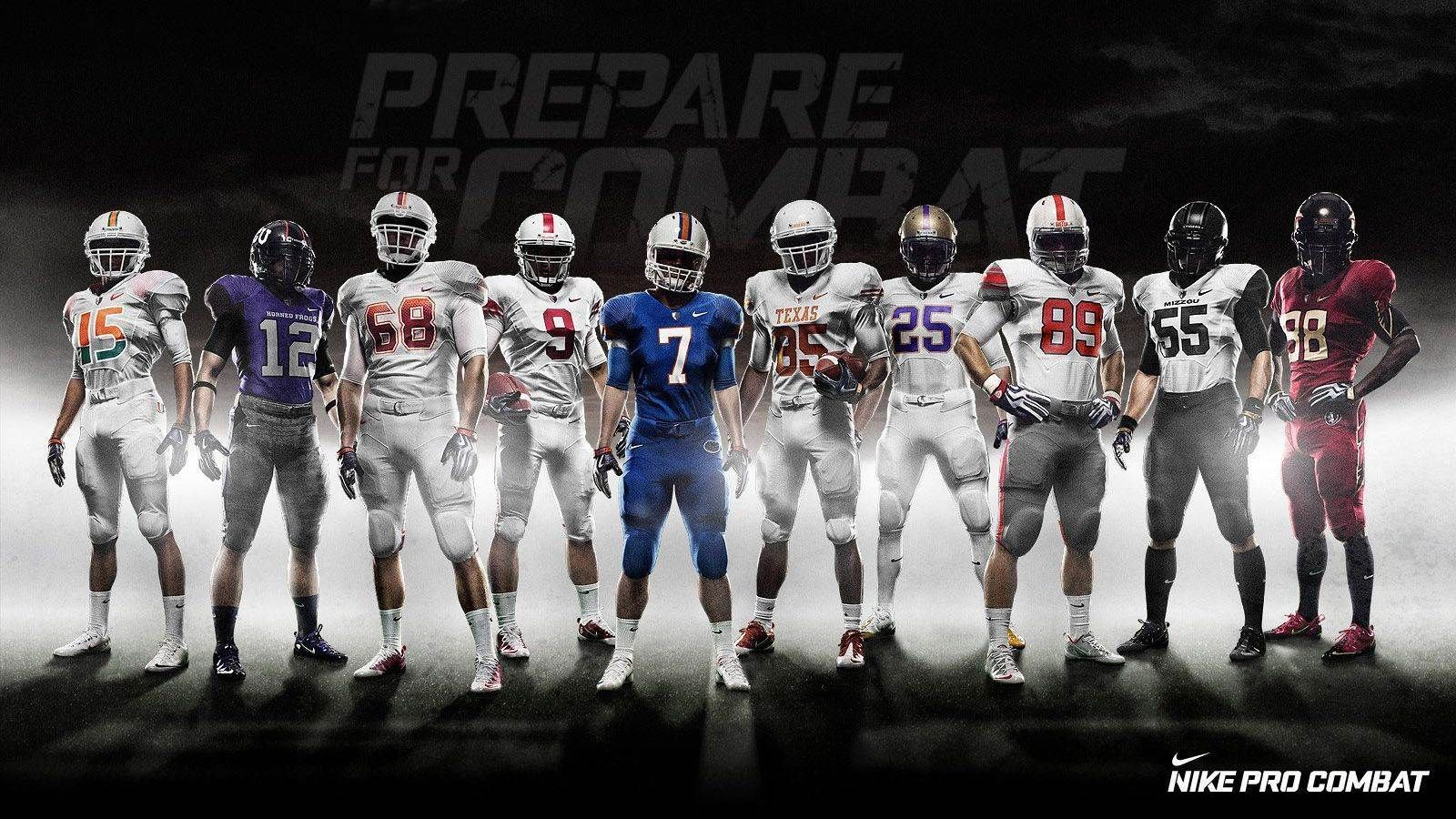 Football Wallpapers Free Download Hd New Latest Sports Player Images 1600 900 Football Wallpaper H Nike Pro Combat Ncaa College Football Nfl Football Wallpaper