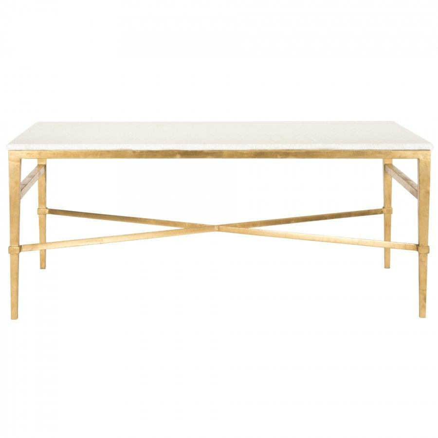 Acker Cocktail Table Gold In 2019 Home Decor Contemporary Coffee