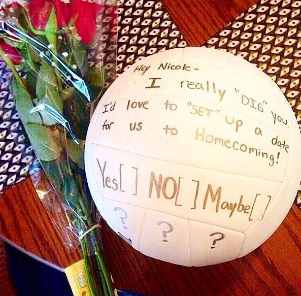 The Perfect Way To Ask Out A Volleyball Player 3 Asking