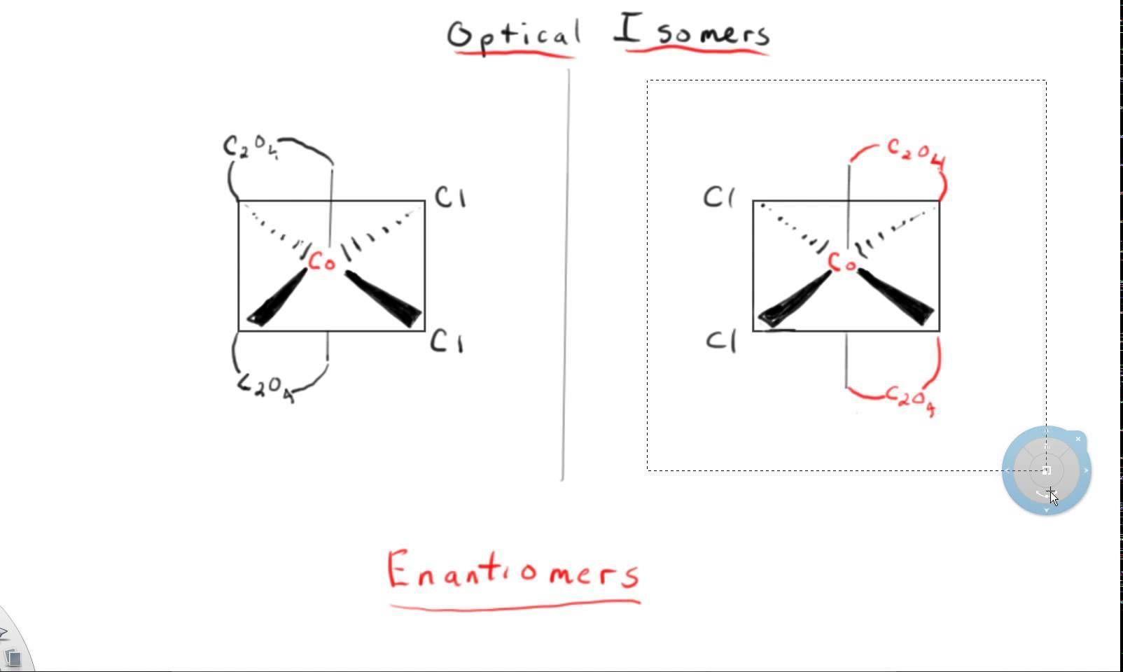 Youtube Mirror Image Chemistry Chart
