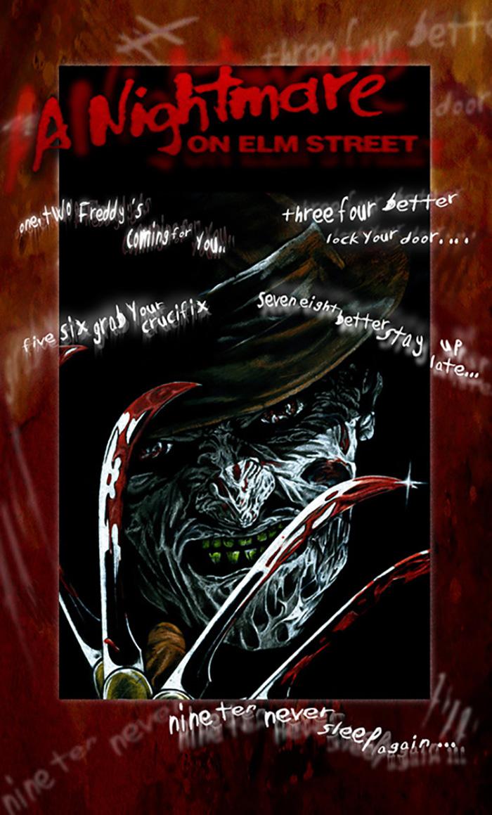 A Nightmare On Elm Street By Hardenedink In 2021 Nightmare On Elm Street A Nightmare On Elm Street Elm Street