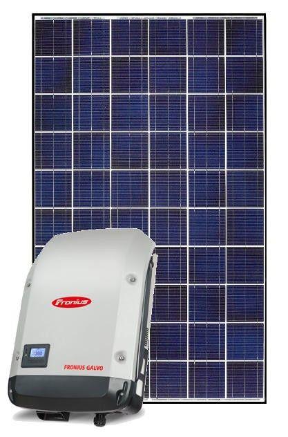 Fronius Galvo 2 120 Watt Grid Tie Solar System Solar System Kit Solar Power House Solar Power Facts