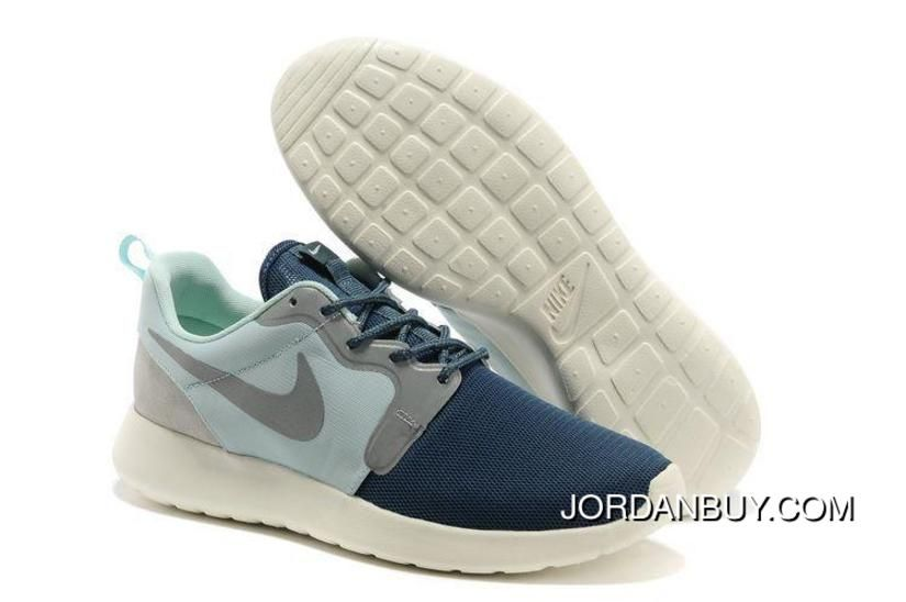 check out fd765 8b63c http   www.jordanbuy.com special-offer-nike-roshe-run -hyp-qs-mens-light-weight-mesh-light-green-air-force-blue-low-running-shoes- shoes.html SPECIAL OFFER ...