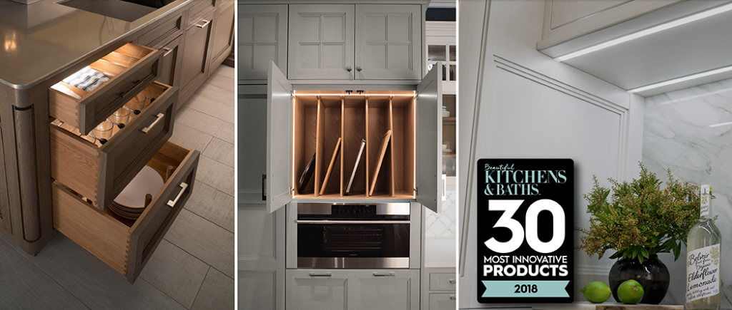 Wood Mode Wins Award For Integrated Lighting From Meredith Corporation Wood Mode Kitchen And Bath Cabinet Design