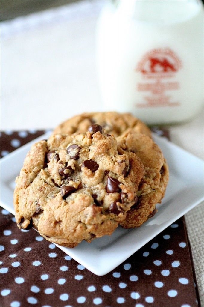 Brown Butter Chocolate Chip Cookies (from The Curvy Carrot)