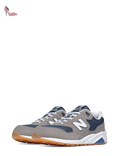 New Balance 580 Elite Edition Revlite, Sneakers Basses Homme, Gris (Grey),