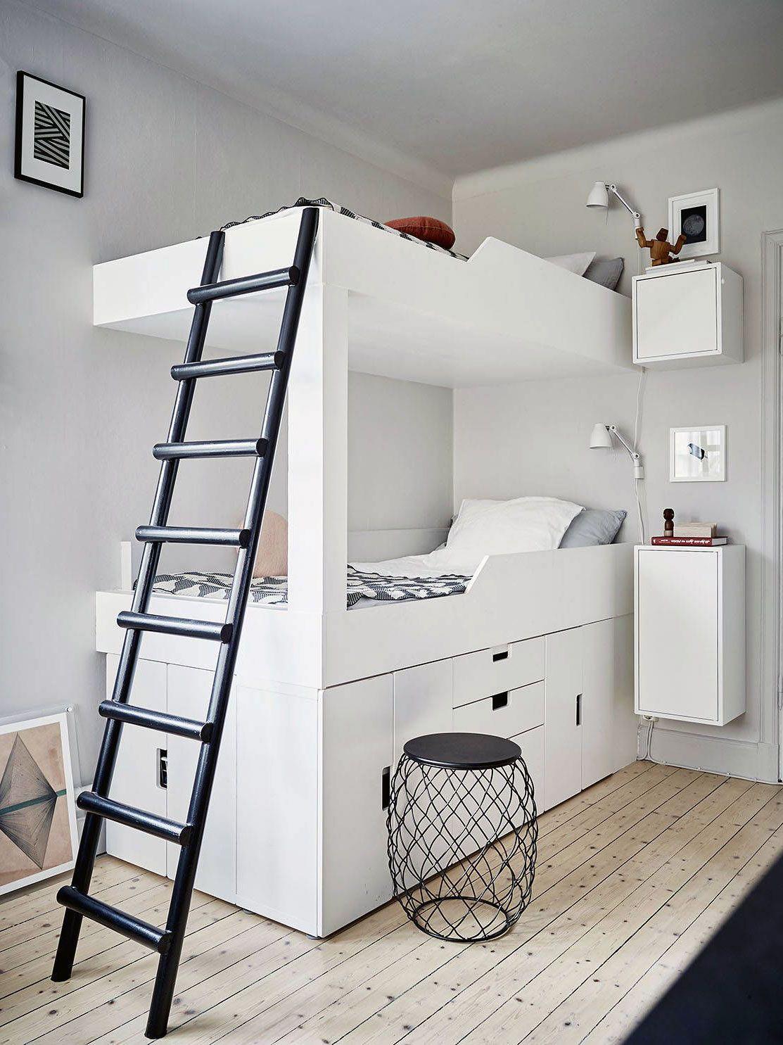 41 Beautiful Scandinavian Bedroom Loft Design Ideas In 2020 Scandinavian Interior Bedroom Scandinavian Bedroom Decor Bedroom Loft