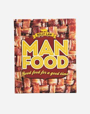 Man food cookbook for the hubby pinterest mens christmas gifts man food cookbook forumfinder Gallery