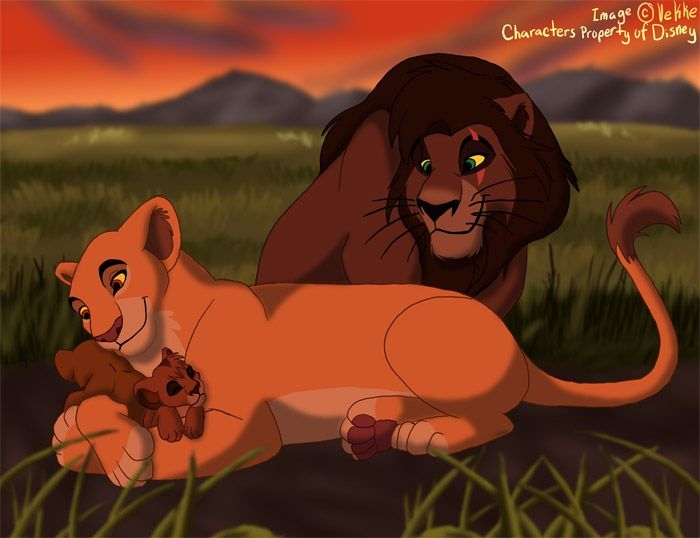 Kovu and Kiara have a cub. I didn\'t know that. Maybe it\'s on Lion ...