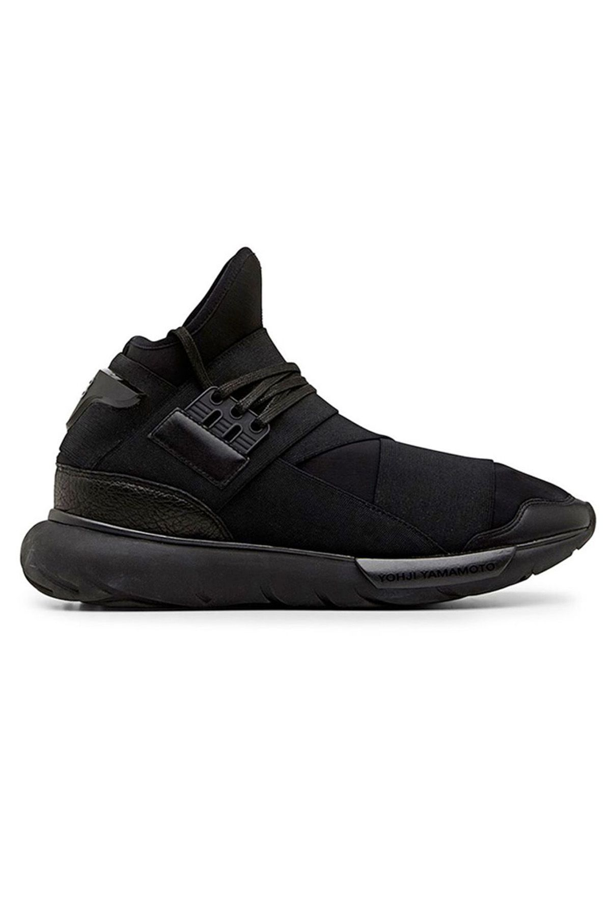 9d454fbb6 Y-3 YOHJI YAMAMOTO QASA HIGH BLACK SNEAKERS Qasa High Black Sneakers ...