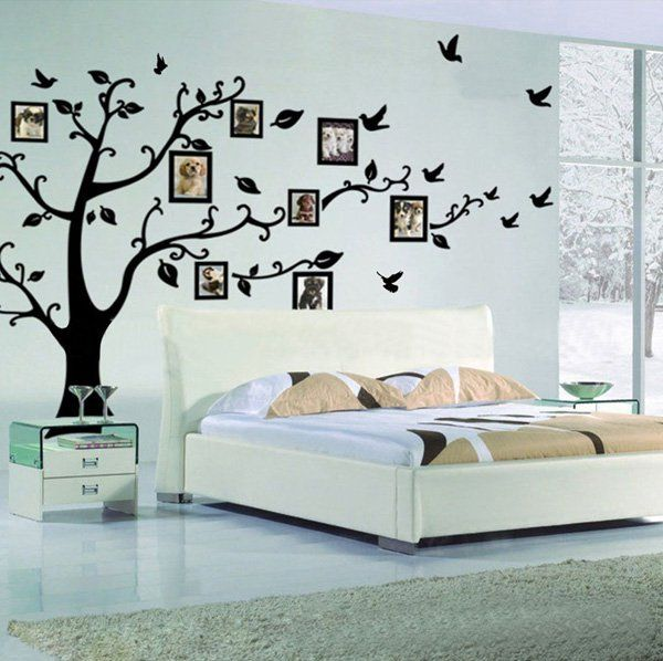 45 Beautiful Wall Decals Ideas Cuded Family Tree Wall Decal Wall Decor Decals Wall Stickers Home Decor