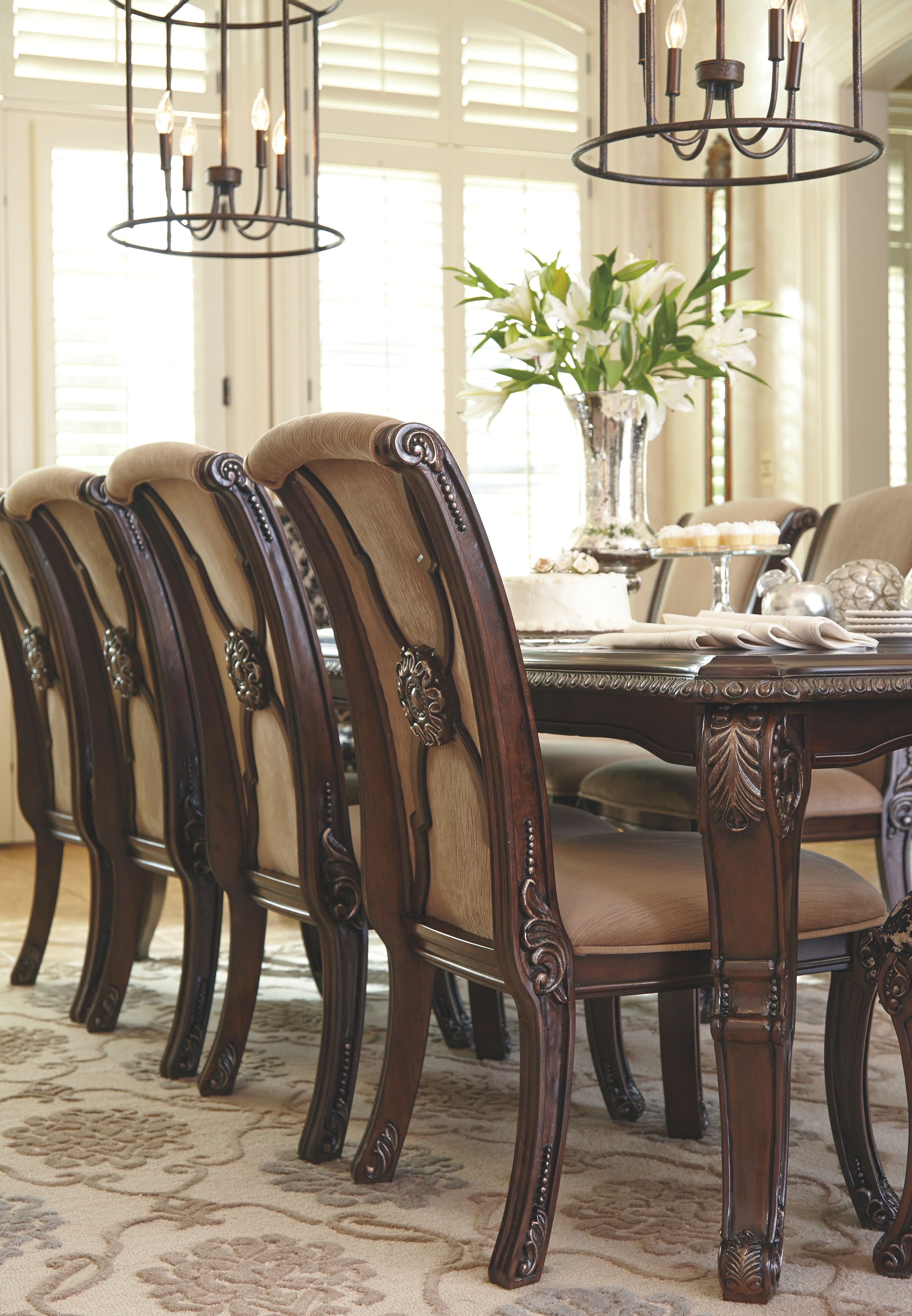 Remarkable Valraven Dining Room Chair Set Of 2 Brown In 2019 Gamerscity Chair Design For Home Gamerscityorg