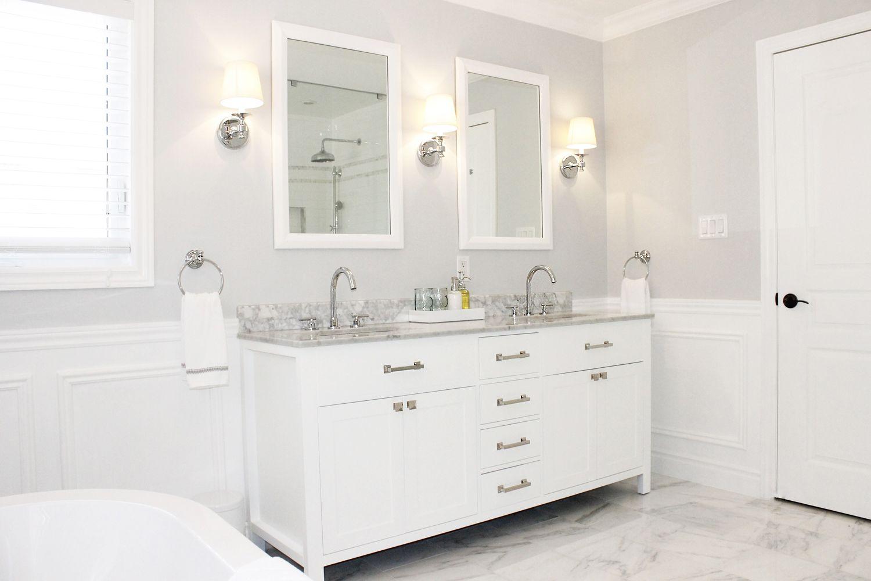 Pin By Deborah Martin Designs On White Bathrooms White Vanity