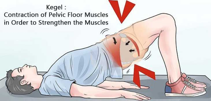 Kegel exercises for men to last longer