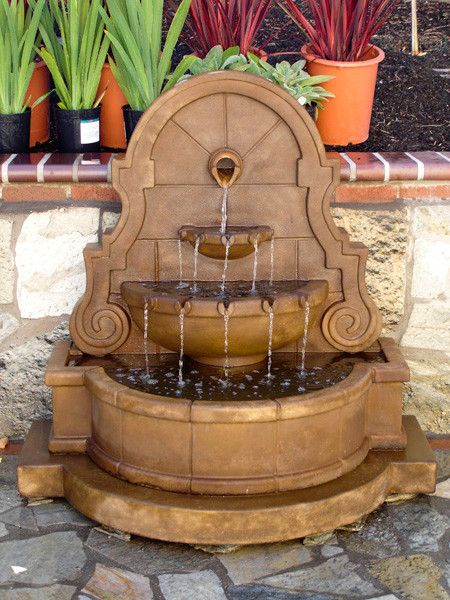 pinterest diy homemade do water ideas best fountains patio fountain on interesting