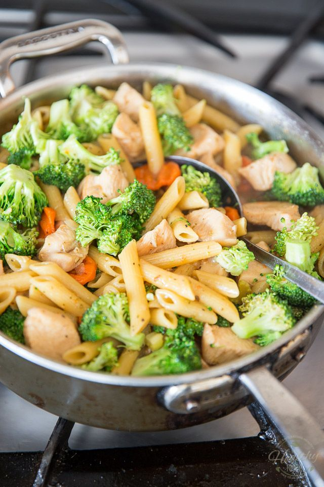 One Pot Creamy Chicken Pasta By Sonia The Healthy Foodie Recipe On Thehealthyfoodie Com Chicken Pasta Recipes Healthy Healthy Recipes Healthy Chicken Pasta