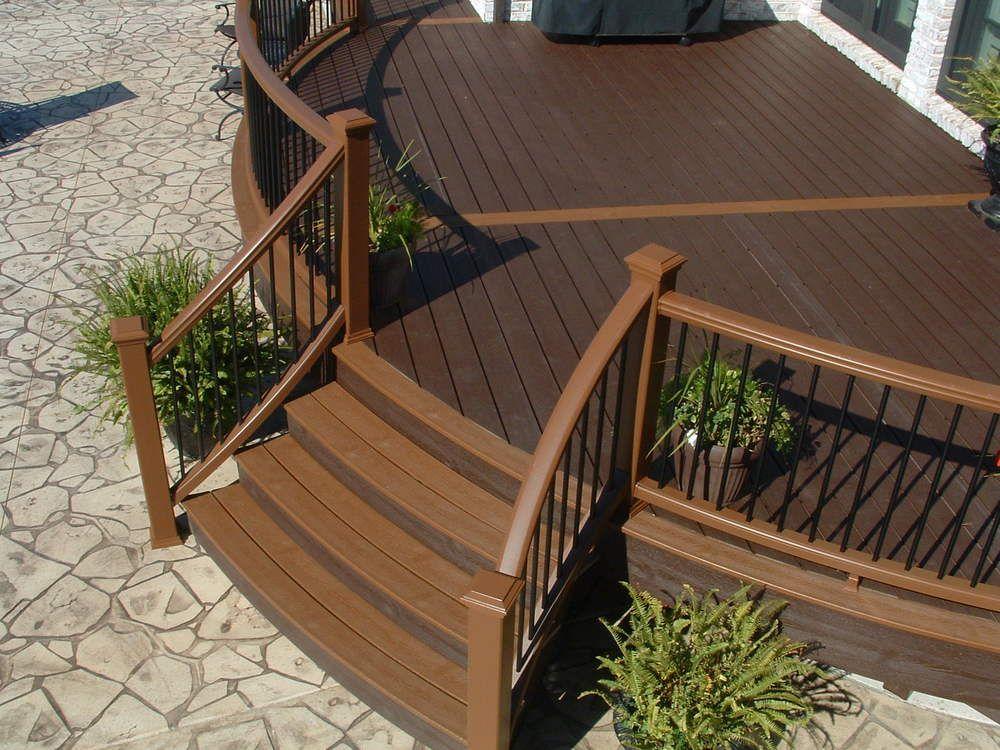 Best Image Result For Curved Composite Decking Deck Design 640 x 480