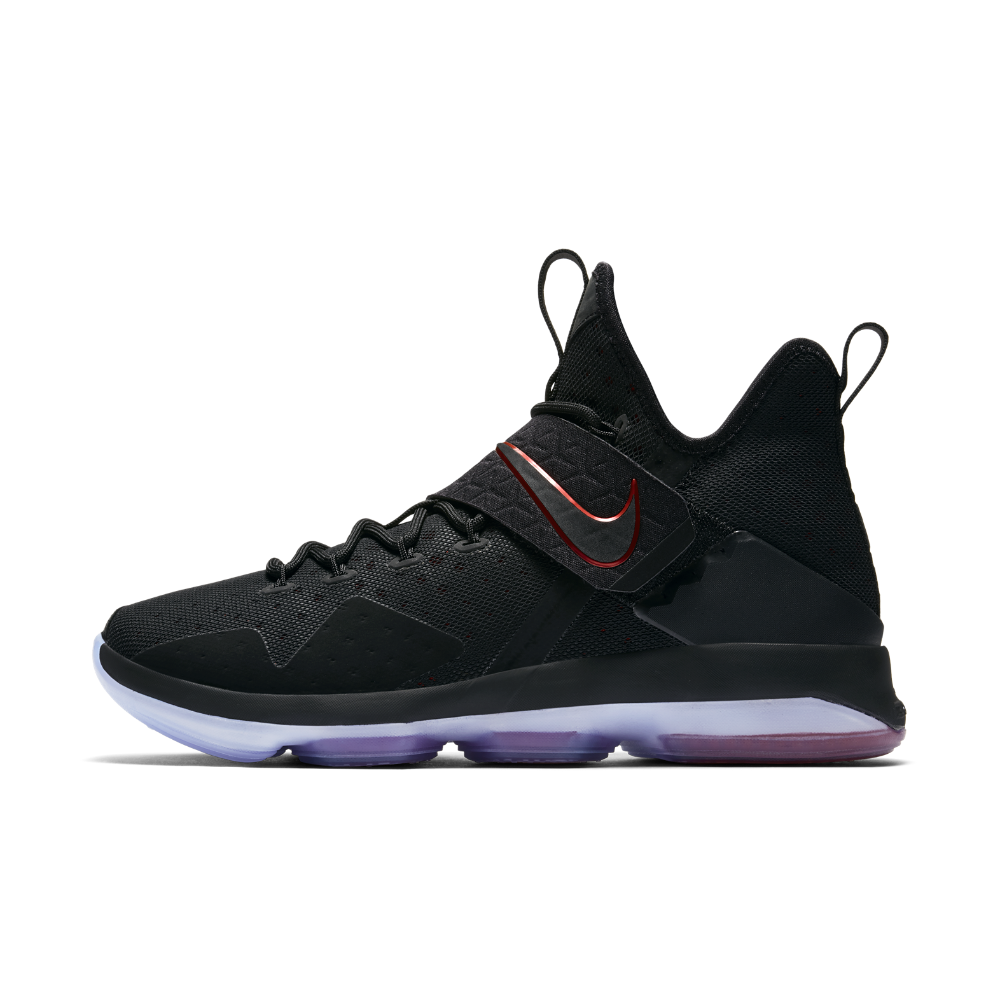 the best attitude 269da 45e45 Nike LeBron XIV Men s Basketball Shoe Size 17 (Black) - Clearance Sale