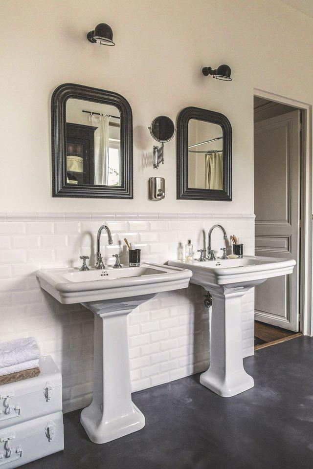 Idées déco pour salle de bains design et moderne | Sol en béton ...