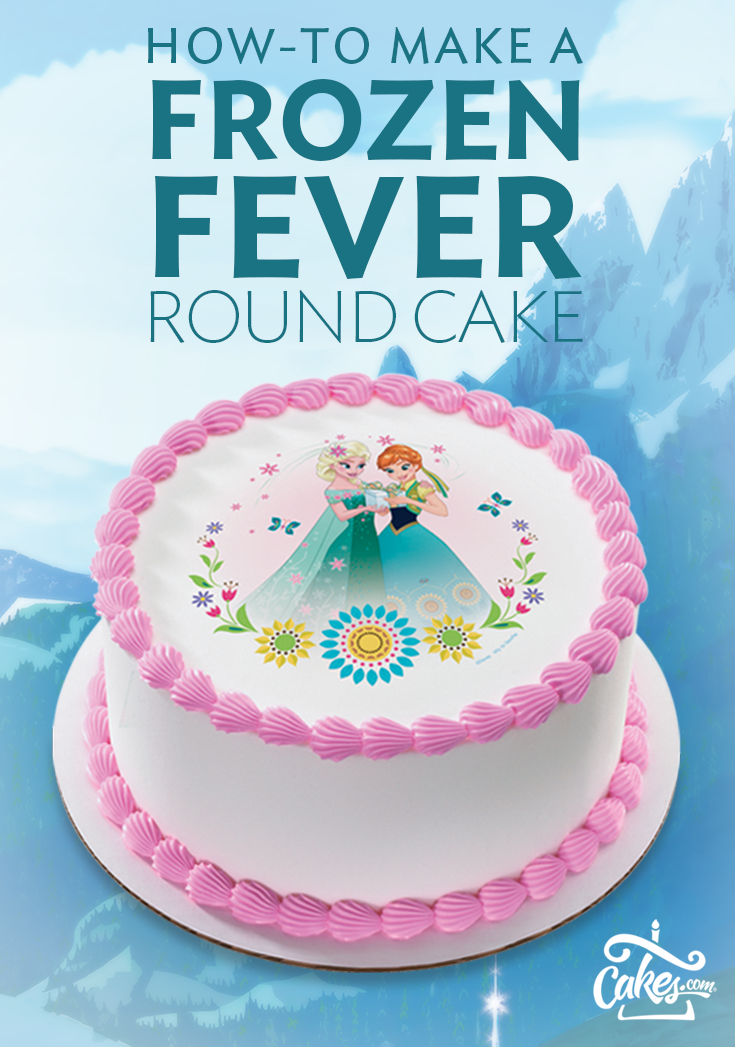 Frozen Fever birthday cake so easy to make