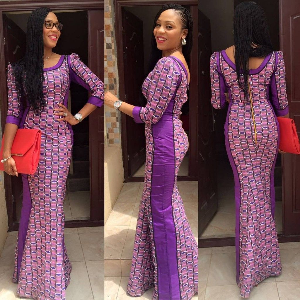 Simple Ankara Styles For Wedding Occasion | Long evening dresses ...