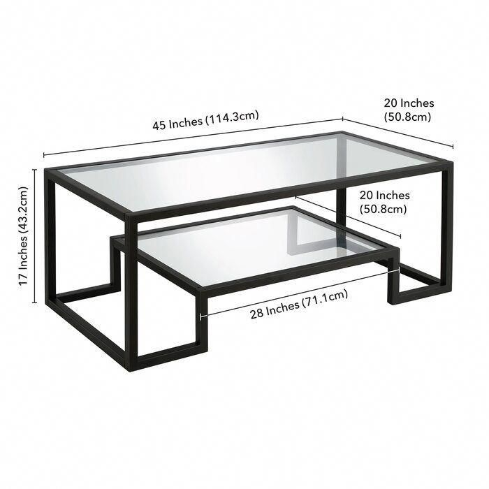 Coffee Tables In Black And White #coffeeshops #CoffeeTable