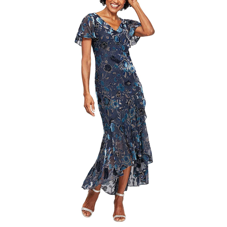 1930s Evening Dress Art Deco Gown Party Dress Burnout Velvet Dress 1930s Dress Evening Art Deco Gown [ 1500 x 1500 Pixel ]