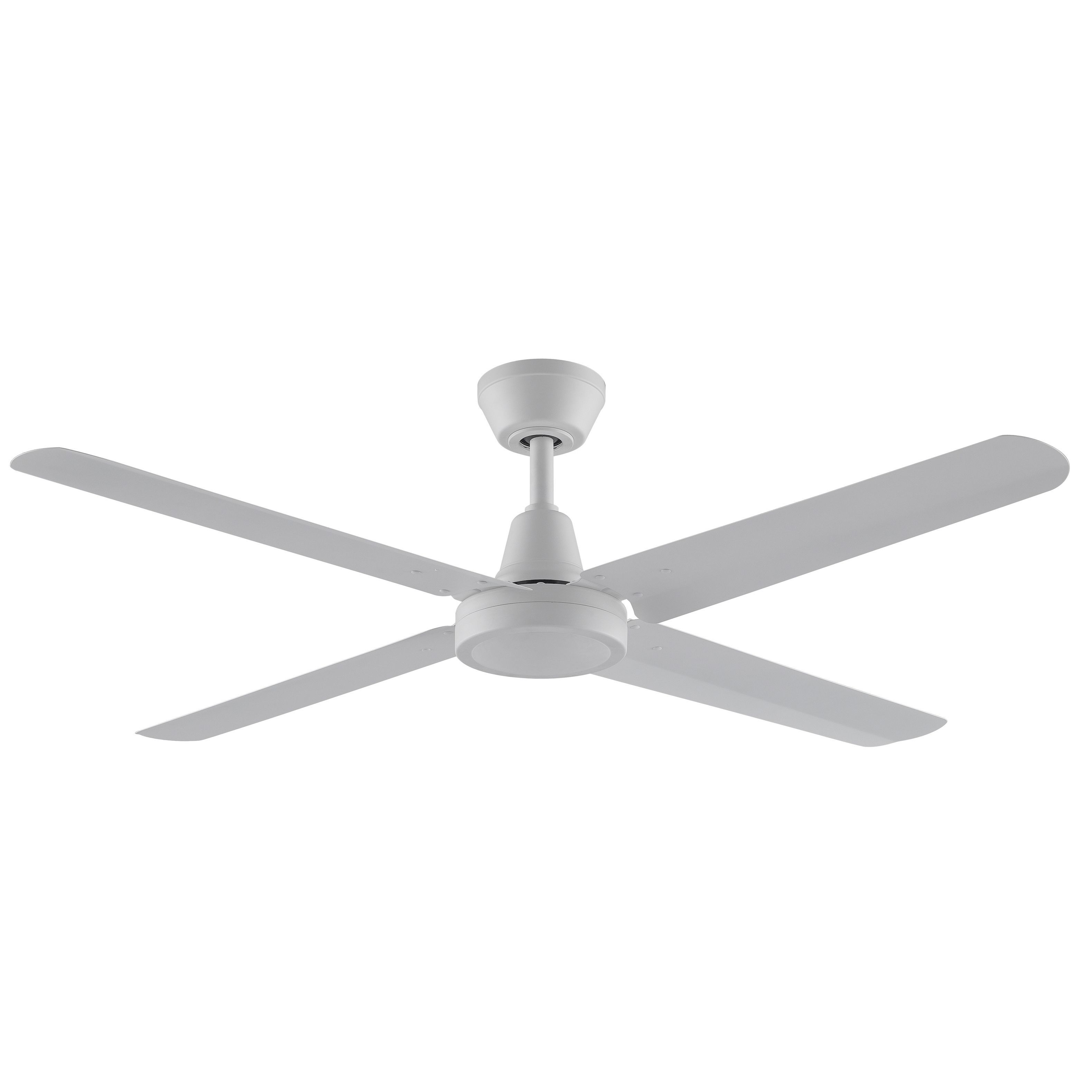 Fanimation Ascension 4 Blade Matte White Ceiling Fan