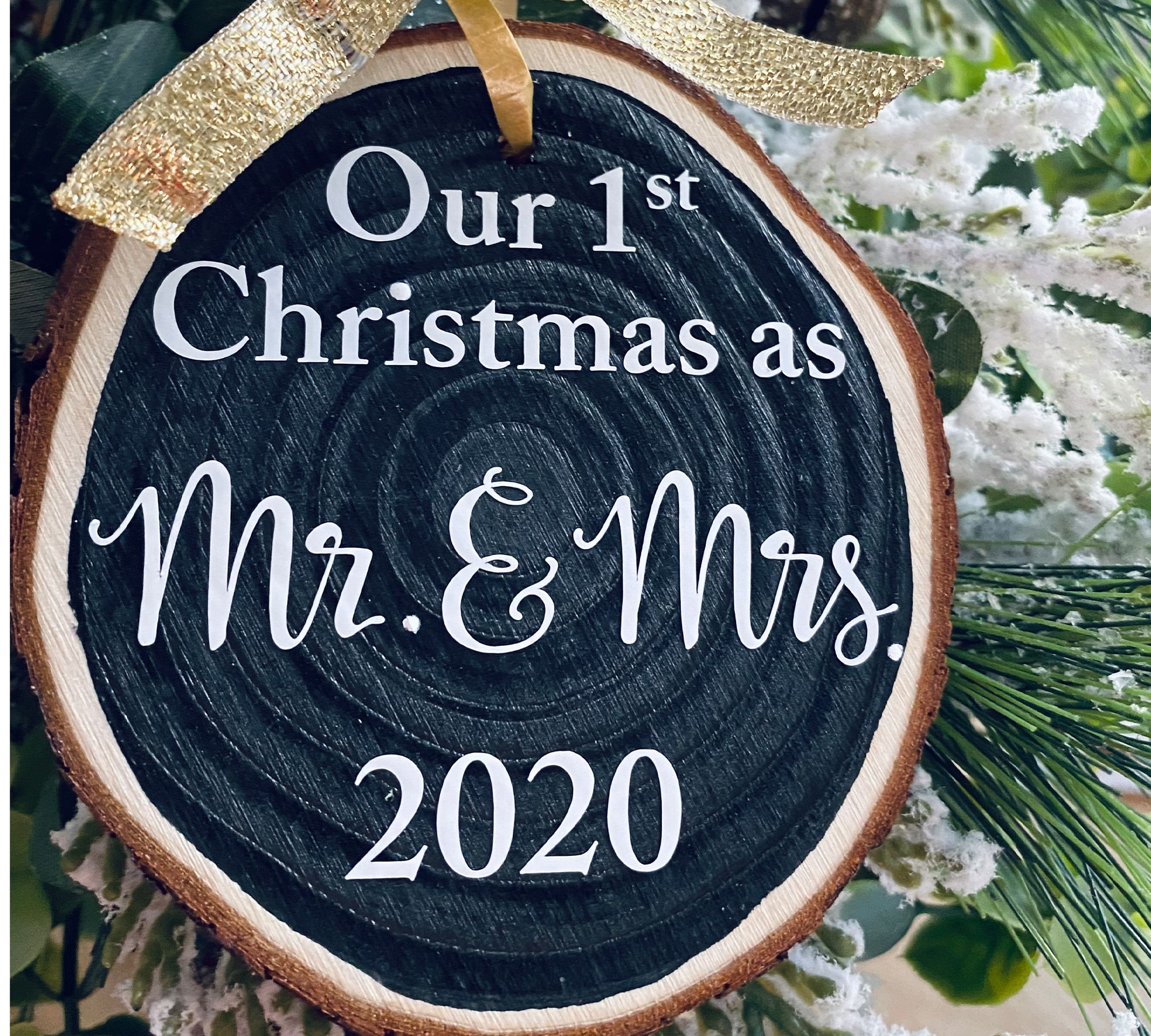 Wine First Christmas Together Ornament 2020 Our First Christmas 2020 Ornament Mr. and Mrs. Wood | Etsy in 2020