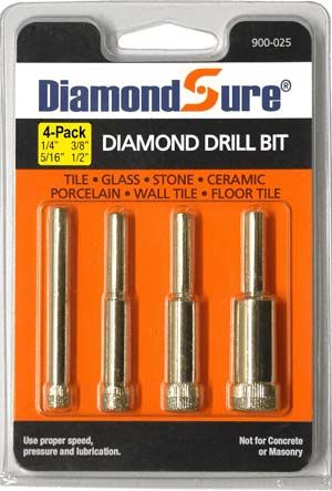Pin En Glass Drill Bits