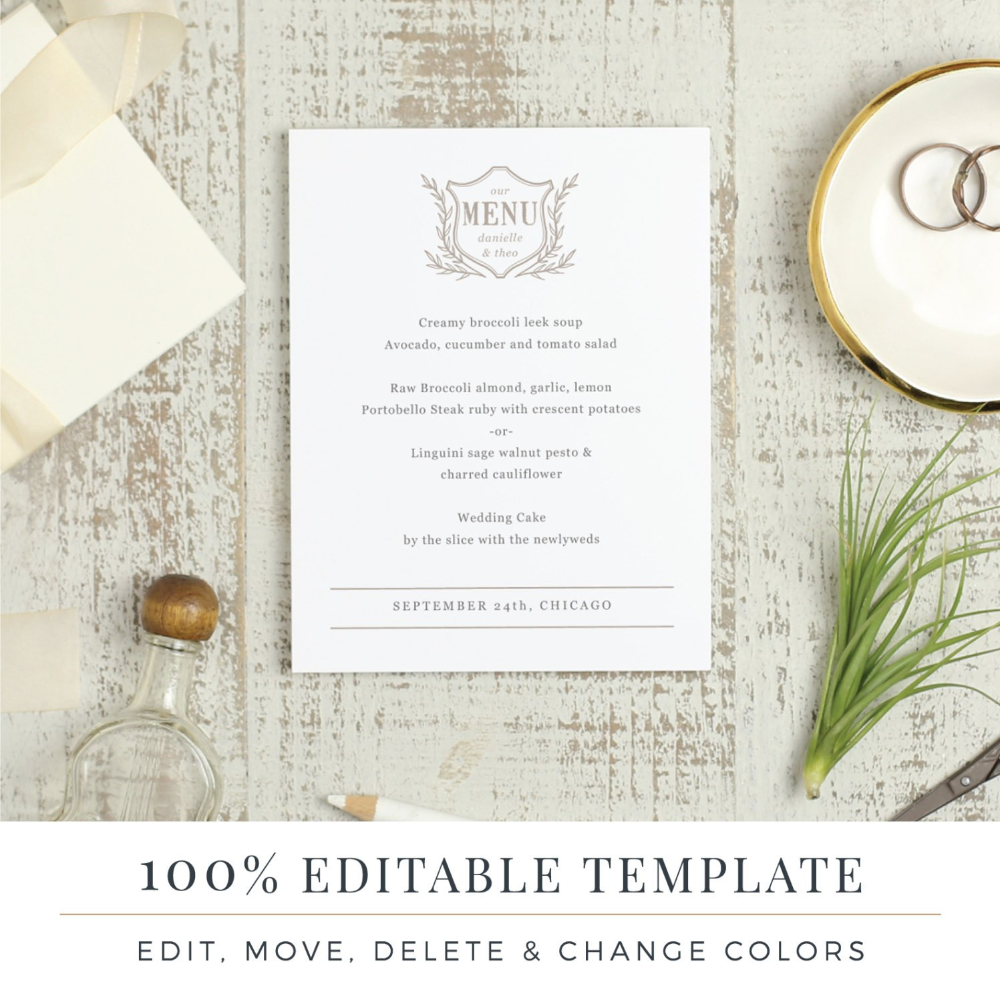 Menu Template Printable Wedding Menu Diy Menu Word Or Etsy Throughout Menu Template For Pages - 10+ Professional Templates Ideas | 10+ Professional Templates Ideas #weddingmenutemplate Menu Template Printable Wedding Menu Diy Menu Word Or Etsy Throughout Menu Template For Pages - 10+ Professional Templates Ideas | 10+ Professional Templates Ideas #weddingmenutemplate