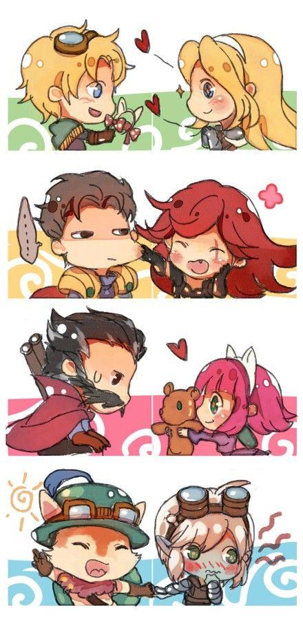 Couple 3 Lol League Of Legends League Of Legends Characters Annie League Of Legends