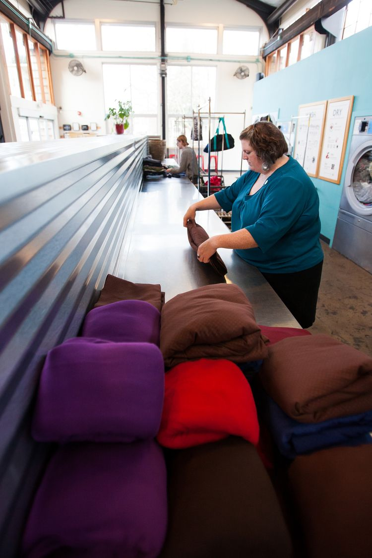 Photography by Nate Watters — Spin Laundry Lounge Lounge