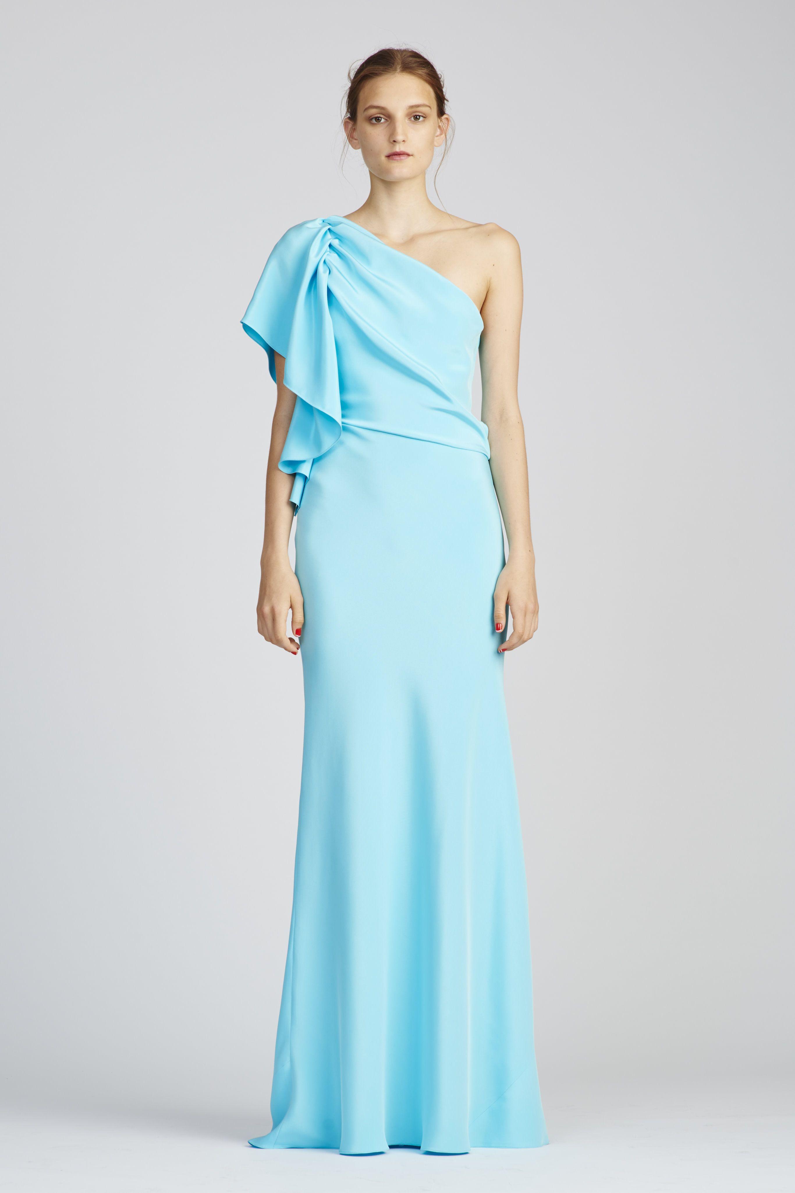 موديلات مختلفة لفساتين السهرة من المصممة العالمية مونيك لولييه 2017 ...